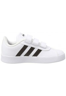 Adidas Kids' Trainers Vl Court 2.0 White Black Lines DB1837