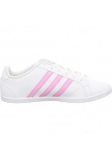 Adidas Women's Trainers Coneo Qt White/Pink F34703 | Low shoes | scorer.es
