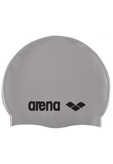 Gorro Arena Silicona Classic Jr Silver/Black