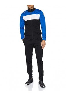 Chandal Kappa Manarola Black/Nautic Blue | scorer.es