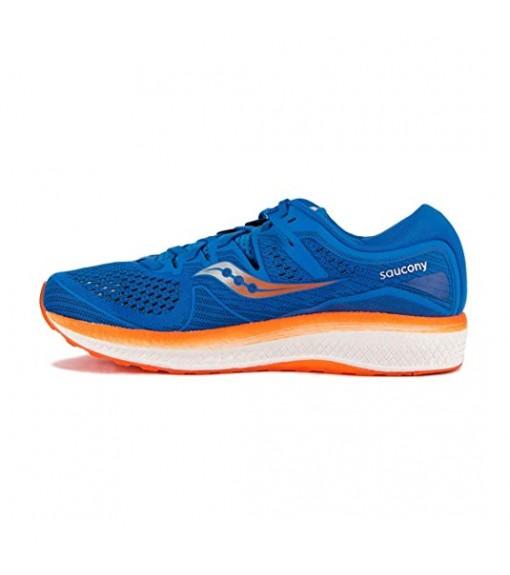 Saucony Trainers Triumph Iso 5 Blue/Ora | Running shoes | scorer.es