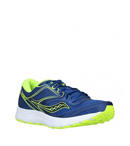 Saucony Trainers Cohesion 12 Blue/Citro | Running shoes | scorer.es