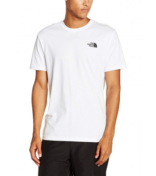 Camiseta Hombre The North Face M S/S Red Box Blanco NF0A2TX2FN41 | scorer.es