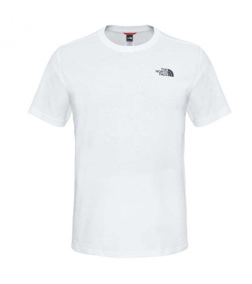 The North Face Men´s T-Shirt M S/S Red Box White NF0A2TX2FN41 | Short Sleeve | scorer.es