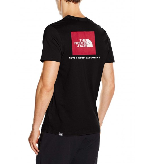 Camiseta Hombre The North Face M S/S Red Box Negra NF0A2TX2JK31 | scorer.es