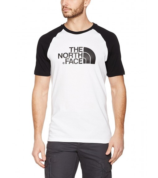 Camiseta Hombre The North Face M S/S Raglan Easy Blanco NF0A37FVLA91 | scorer.es