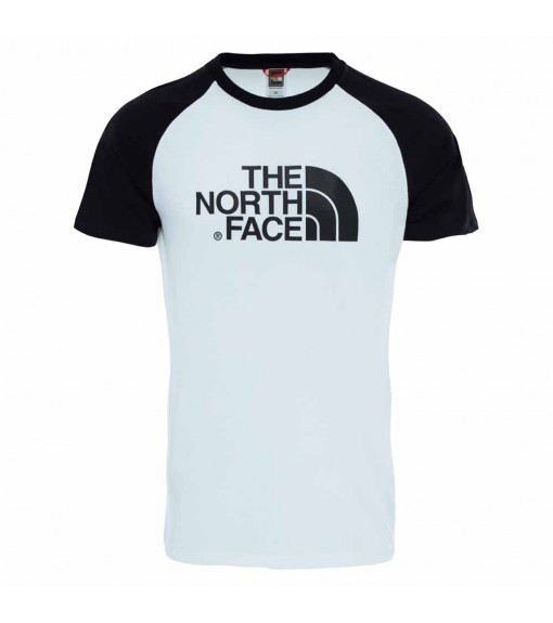 The North Face Men's T-Shirt M S/S Raglan Easy White NF0A37FVLA91 | Short Sleeve | scorer.es