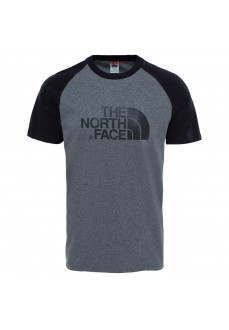 Camiseta Hombre The North Face M S/S Rag Easy Gris NF0A37FVJBV1