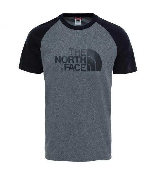 The North Face Men's T-Shirt M S/S Rag Easy Gray NF0A37FVJBV1 | Men's T-Shirts | scorer.es