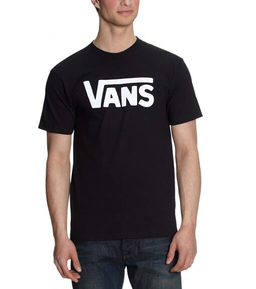 Camiseta Vans Apparel Classic Negro VN000GGGY281   scorer.es