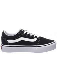 Vans Women's Trainers Ward Platform (Canvas) Black VN0A3TLC1871