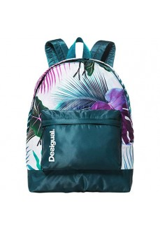 Mochila Desigual print tropical Bio Patching