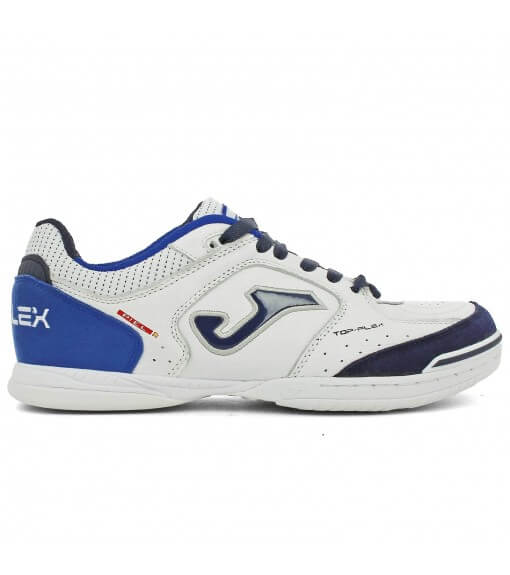 Joma Trainers Top Flex 932 White-Royal   Football boots   scorer.es