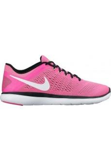 Zapatillas Nike Flex 2016 Rosa/Blanco