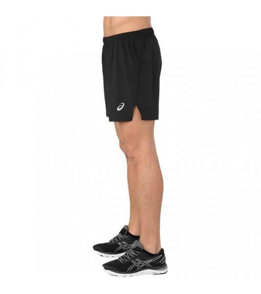 Asics Men's Shorts Silver Short Black 2011A017-001 | Shorts | scorer.es