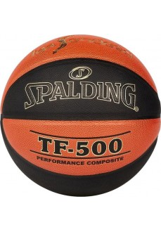 Spalding Ball Liga Endesa Tf500 Orange-Black 76-287Z