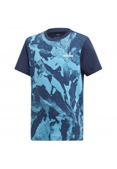 Camiseta Adidas Essentials Allover Prin
