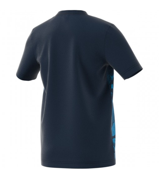 Adidas T-Shirt Essentials Allover Prin | Short Sleeve | scorer.es