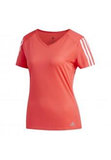 Camiseta Adidas Run 3S Tee W