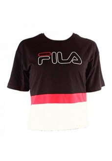 Camiseta Fila Black White Red