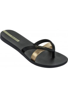 Chancla Ipanema Kirei Black/Gold