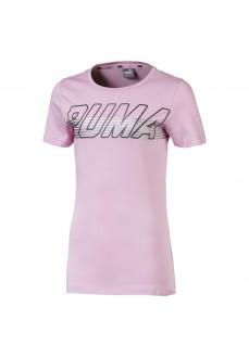 Camiseta Puma Alpha Logo Tee G Pale