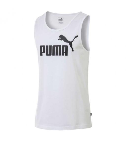 Puma Men's Shirt Ess Tank White 851742-02 | Short Sleeve | scorer.es