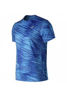 Camiseta HombreNew Balance Prnt Acclrt Azul Mt91162 BB