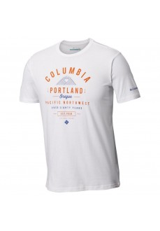 Camiseta Hombre Columbia Leasthan Trail™Tee Blanco Em0729-100