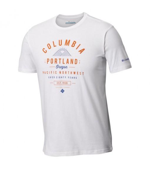 Columbia Men's T-Shirt Leasthan Trail™Tee White Em0729-100 | Short sleeve T-shirts | scorer.es