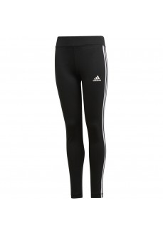 Pantalón Largo Niña Adidas Training Equipment 3-Stripes Tights Negro Dv2755