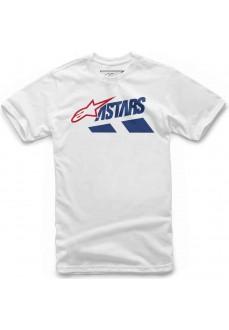 Camiseta Hombre Alpinestars Downhill Tee Blanco 1119-72022-20