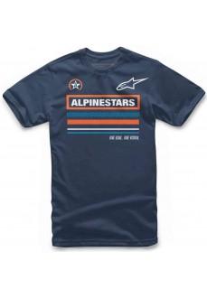 Camiseta Hombre Alpinestars Multi Tee Marino 1119-72010-70 | scorer.es