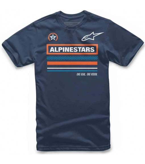 Camiseta Hombre Alpinestars Multi Tee Marino 1119-72010-70   scorer.es