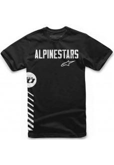 Camiseta Hombre Alpinestars Wordly Tee Negro 1119-72008-10 | scorer.es