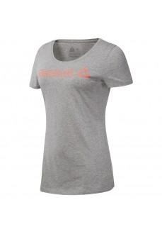 Camiseta Mujer Reebok Linear Read Gris DU4648