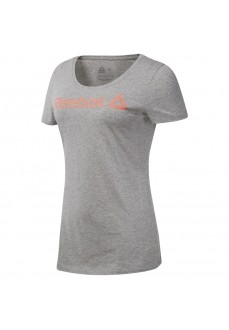 Reebok Women's T-Shirt Liner Read Gray DU4648 | Short Sleeve | scorer.es