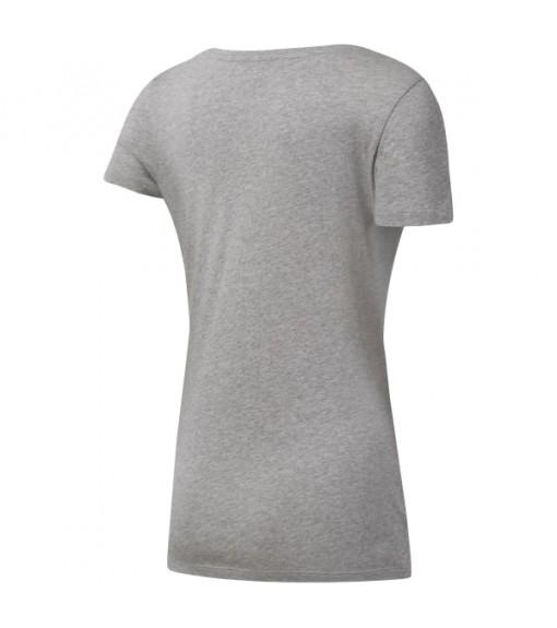 Reebok Women's T-Shirt Liner Read Gray DU4648 | Short Sleeve | scorer.es