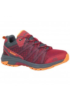 Hi-tec Trainers Serra Trail Red/Burnt Orange | Trekking shoes | scorer.es