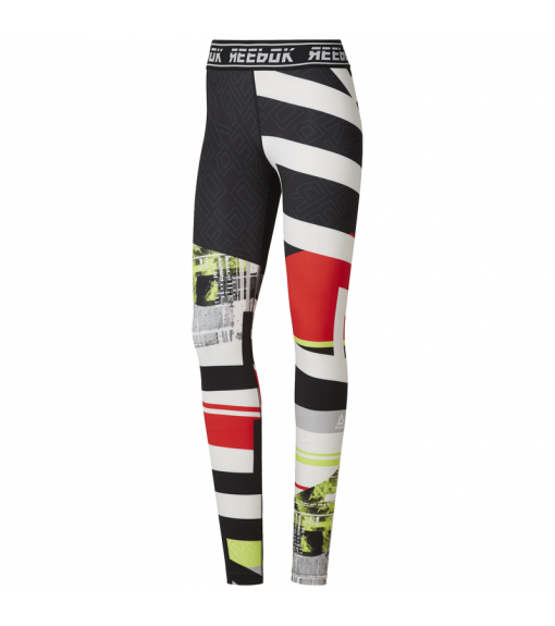 Reebok Women's Tights Wor Meet You There Engineer Neon Lima Du4828 | Tights for Women | scorer.es
