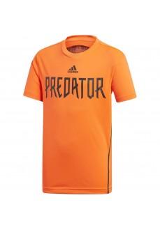Camiseta Niño Adidas Predator Roja Dv1330 | scorer.es