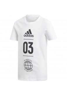 Camiseta Niño Adidas Sport ID Blanco DV1704 | scorer.es