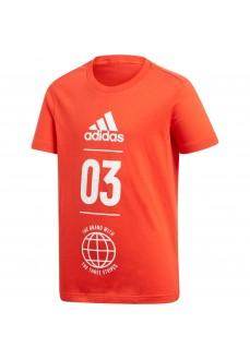 Adidas Kids' T-Shirt Sport ID Red DV1705