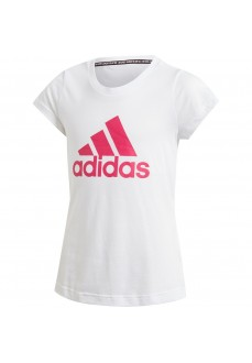 Camiseta Niña Adidas Must Haves Badge of Sport Blanco DV0321