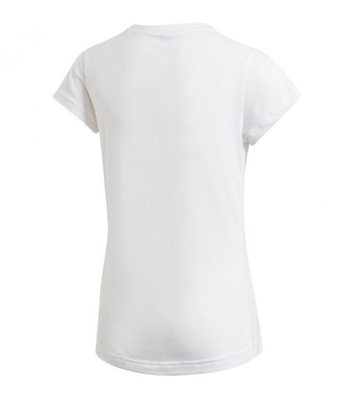 Adidas Girls' T-Shirt Must Haves Badge of Sport White DV0321 | Short Sleeve | scorer.es