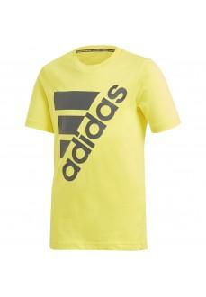 Camiseta Niño Adidas Must Haves Badge of Sport Amarillo DV0796 | scorer.es
