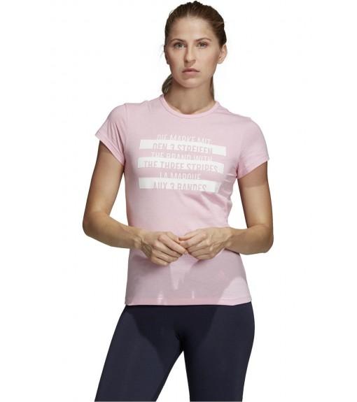 Adidas Women's T-Shirt Sport ID T-Shirt Pink DU0228 | Short Sleeve | scorer.es