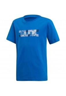 Camiseta Niño Adidas Id Box Tee Azul DV2944