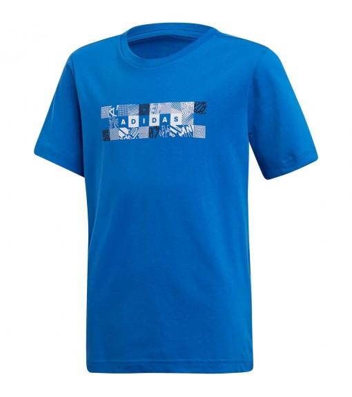 Adidas Kids' T-Shirt Id Box Tee Blue DV2944 | Short sleeve T-shirts | scorer.es