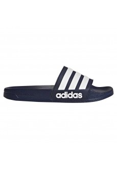 Adidas Men's Slides Adilette Cloudfoam Navy Blue AQ1703